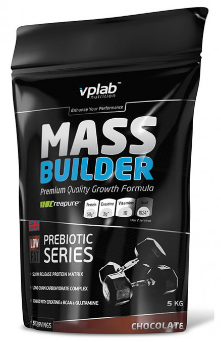 Гейнер VPLab Mass Builder мешок (5000 г)